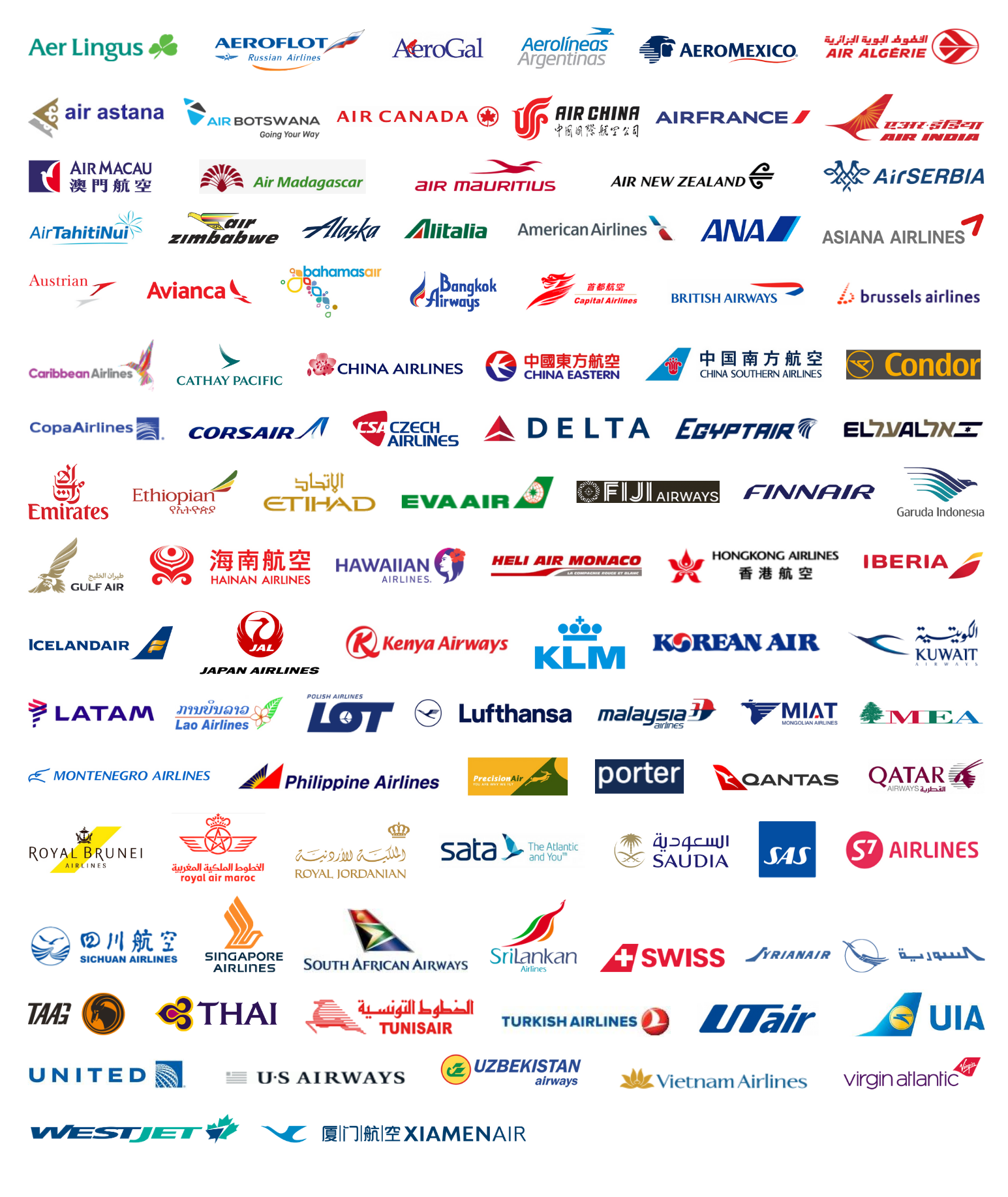 Airline-Partners_logos